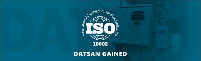 DATSAN GAINED ISO 10002 CUSTOMER SATISFACTION CERTIFICATION